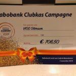 Rabobank clubkas cheque